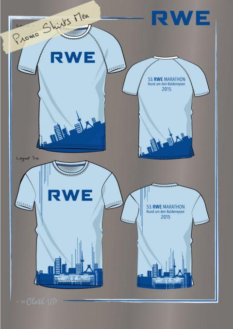 Entwurf Herren Werbe Shirt