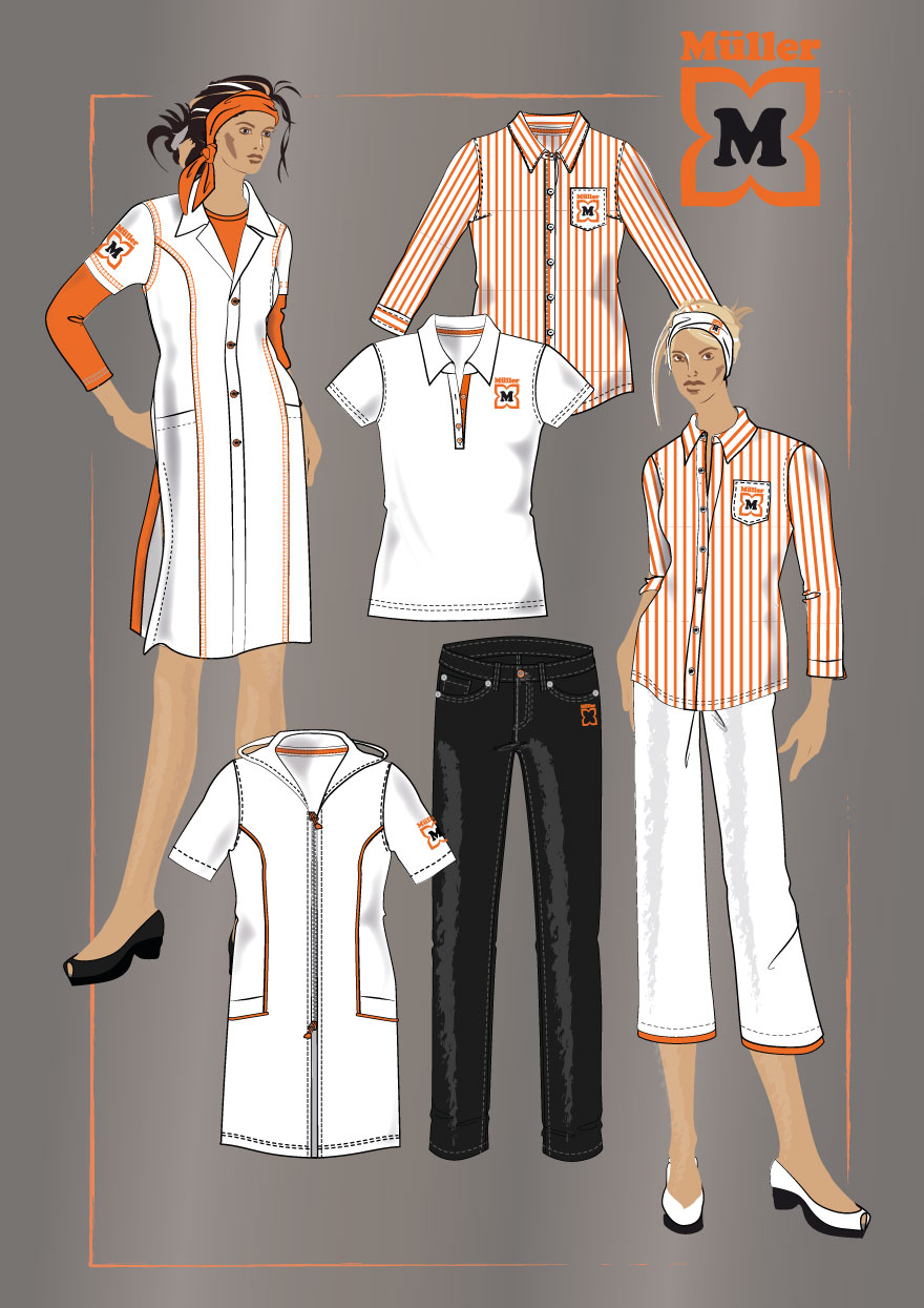 Job Wear Layouts, Women