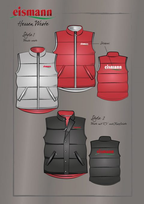 Job Wear Layouts Vest