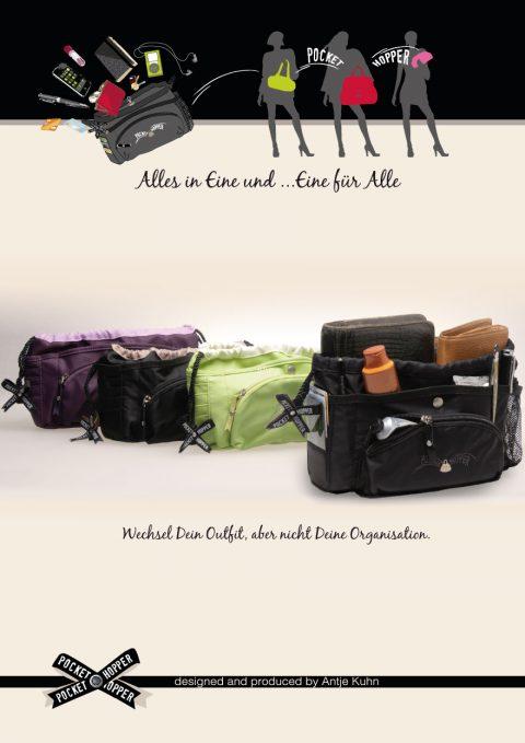 Produktdesign Taschen, Pocket Hopper